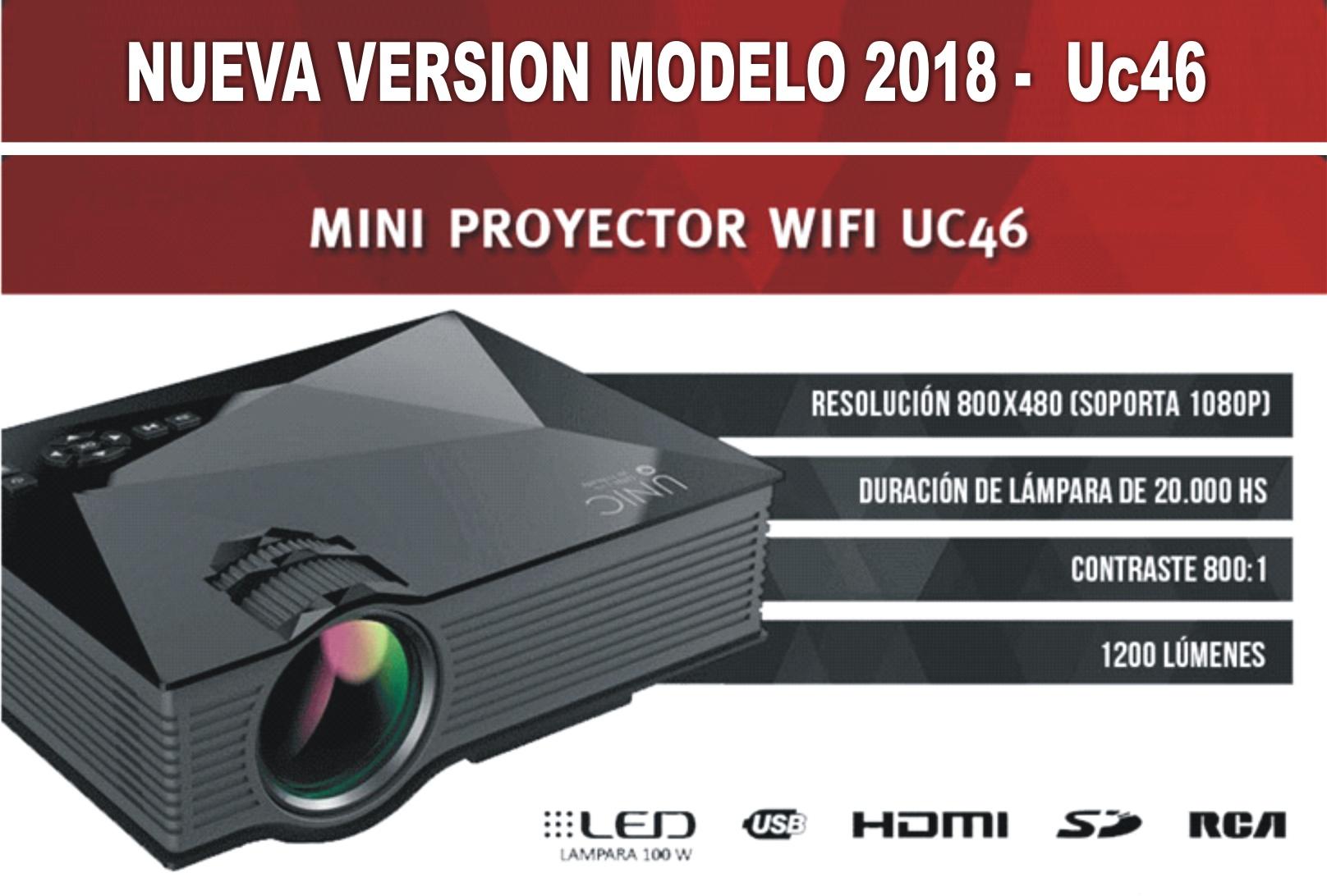 uc 46 mini proyector 2018