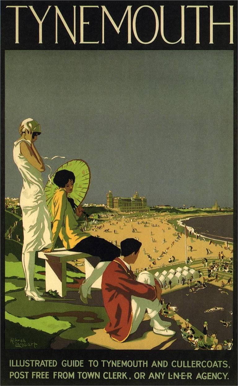 LNER Railway Poster Tynemouth 1926 768 x 1242