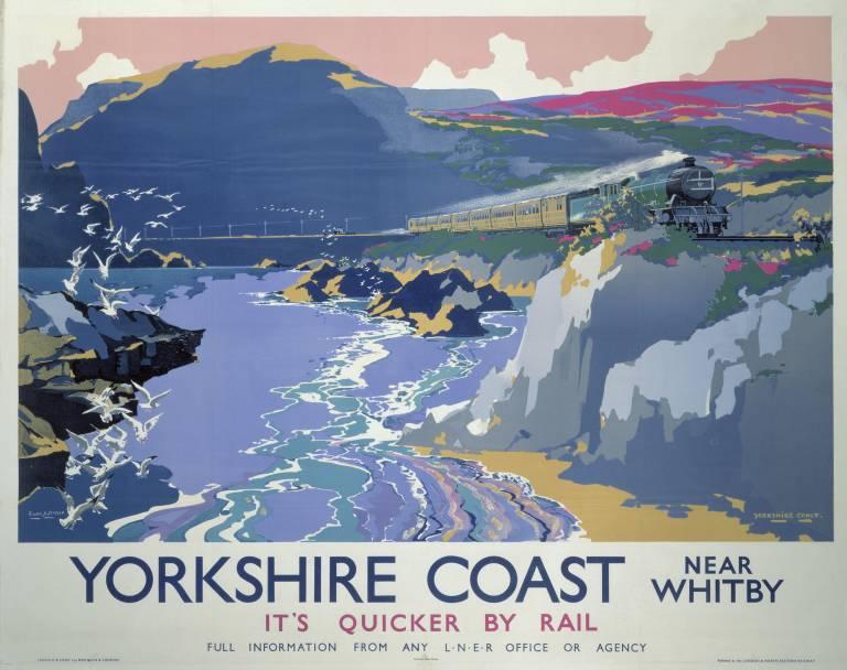 Yorkshire Coast British Railways 768 x 608
