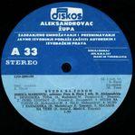 Zorica Markovic - Diskografija  36839376_Ploca_A