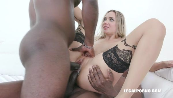 Double anal for obedient slut Polina Maxim IV496 sd